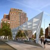 An illustration of the New York City AIDS Memorial