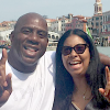 "Earvin ""Magic"" Johnson and his wife Cookie celebrate their 25th anniversary Sept. 2016."