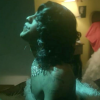 "A still from Mykki Blanco's video ""Hideaway"""