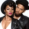 "Taraji P. Henson and Jussie Smollet of ""Empire"" star in the MAC's latest Viva Glam campaign"
