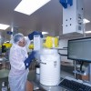 A patient's T cells arrive at the Novartis manufacturing facility in Morris Plains, where they will be re-engineered to recognize and fight cancer and healthy cells expressing a specific antigen in the patient's body.
