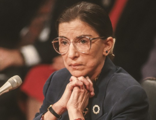 Ruth Bader Ginsburg, during confirmation hearings, U. S. Supreme Court. 7/21/1993