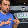 If you want to go the extra mile, add it to your licence plate.  Shirt courtesy of Courage and a Cure.