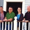 From left: AIDS Support Group of Cape Cod's Joe Carleo, Bill Furdon, Jill Brookshire and Kevin O'Toole