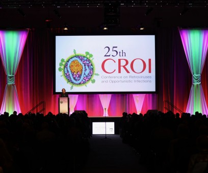 The opening session of CROI 2018 in Boston.