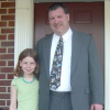 Samantha Stinchcomb with her father, Wayne; Wayne passed away in 2010, three years after being diagnosed with melanoma.