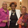 (From left to right): C. Virginia Fields, Ingrid Floyd, Pernessa C. Steele