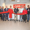 A ribbon cutting ceremony for the Hub at GMHC