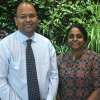 Drs. Sudha Sivaram, Center for Global Health, and Vikrant Sahasrabuddhe, Division of Cancer Prevention