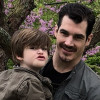 NHL star Brian Boyle and his family.