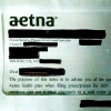 A sample Aetna envelope