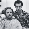 "Geoff Edholm (left) and David Schacter in ""Buddies"""
