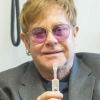 Evgeny Lebedev and Sir Elton John in Atlanta to launch AIDSfree
