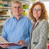 Matthew L. Meyerson, MD, PhD (left), and Wendy S. Garrett, MD, PhD