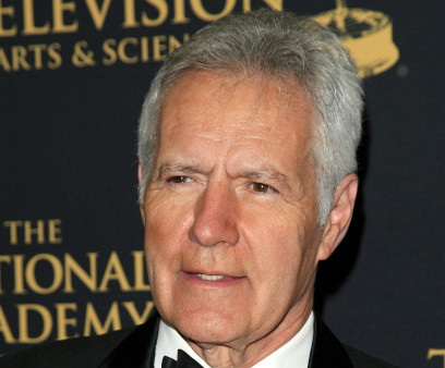 Alex Trebek at The 42nd Daytime Creative Arts Emmy Awards Gala at the Universal Hilton Hotel on April 24, 2015 in Los Angeles, California