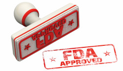 FDA Approved stamp