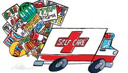 Self Care Activism illustration
