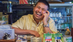Visual artist Kaz Senju documents Tokyo's gay bar scene through photos and interviews.