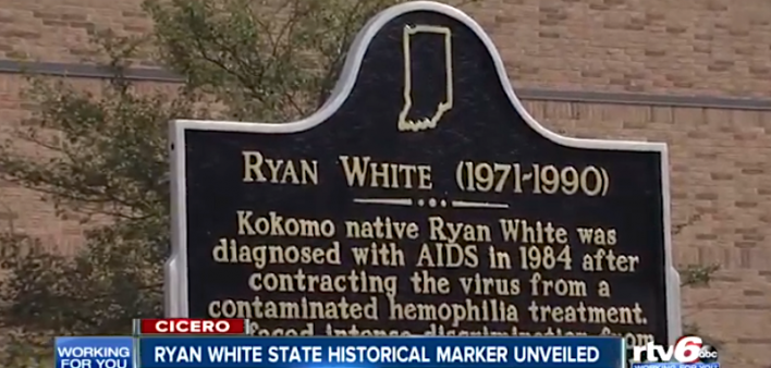 Ryan White State Historical Marker Unveiled in Indiana